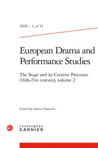 Europeen Drama and Performance Studies, vol. 2